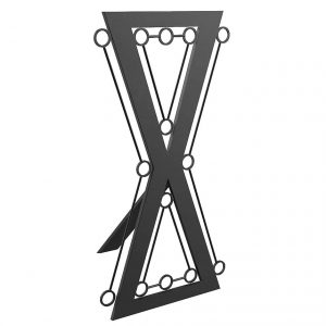 bdsm architecture. Hour glass bondage cross