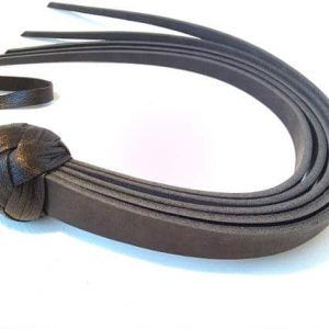 bdsm leather flogger
